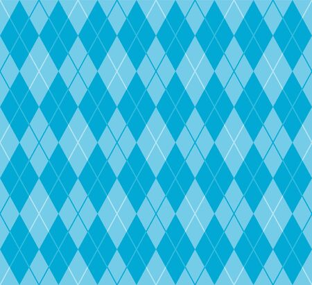 argyle: Cool blue argyle seamless pattern