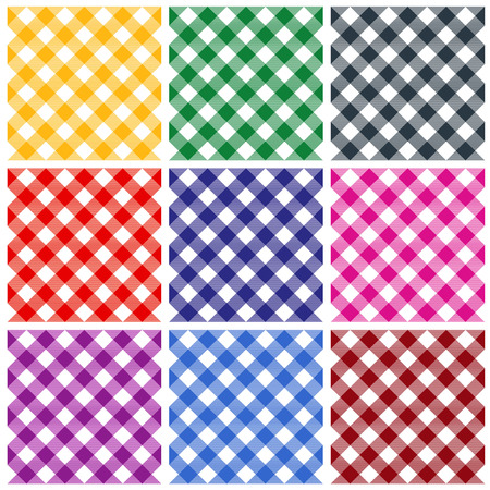napkins: Gingham patterns  textures in different colors for Thanksgiving, home decorating, napkins, tablecloths, picnics. arts, crafts and scrap books.