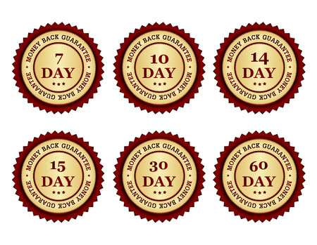 Risk Free: Seven  7 ten  10 fourteen  14  fifteen 15  thirty 30 and sixty 60 day money back guarantee stamp collection