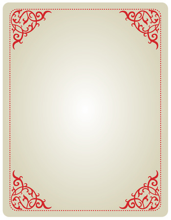 specially: Elegant ornamental border  frame specially for wedding  party invitation cards