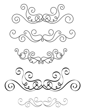 Decorative design elements for Wedding invitation/ anniversary backgrounds can be use to decorate wedding , anniversary, valentines day, mother's day party invitation / cards.