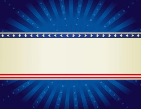 julio: EE.UU. patri�tico 4 de julio de dise�o de fondo estrellas wth y rayas con starburst