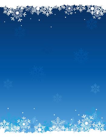 立ち下がりの白い雪と雪冬の背景