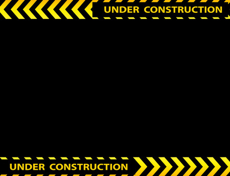 overhaul: Illustratiom of under construction background with empty space