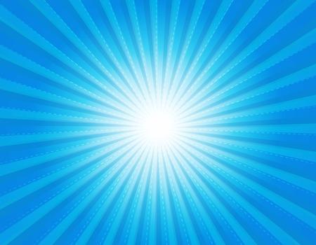 diverge: Cool blue retro star-burst background  wallpaper