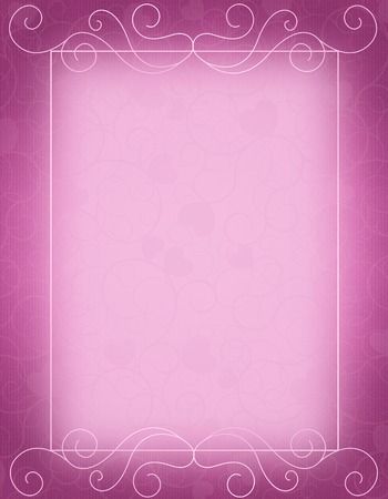 elegant backgrounds: Purple ornamental border  frame specially for wedding  party invitation card background Stock Photo