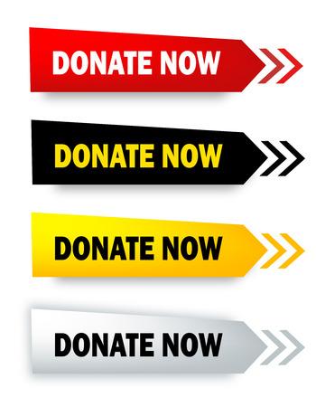 gönüllü: Isolated on white şimdi konuşma balonu  web düğmesi koleksiyonu Bağış Çizim