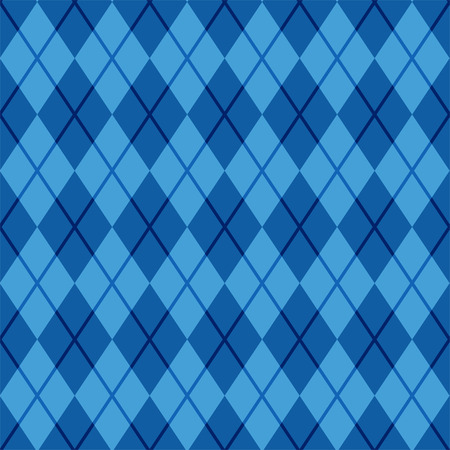 diamond background: Seamless argyle pattern. Diamond shapes background. Vector