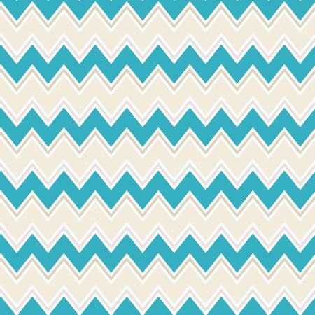 Seamless colorful zigzag chevron / herringbone pattern background. 矢量图像