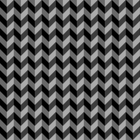 woven: Seamless colorful zigzag chevron pattern background.