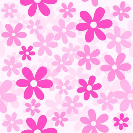 fabric patterns: Flower  floral seamless pattern