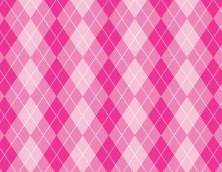 cotton fabric: argyle  harlequin pattern Illustration