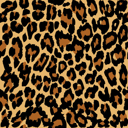 Leopard pattern. Vector.