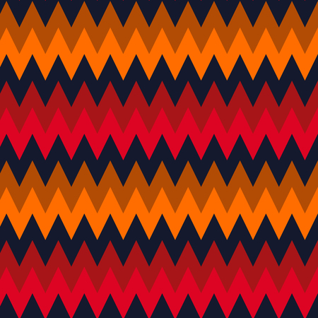 colorful zigzag chevron pattern background.