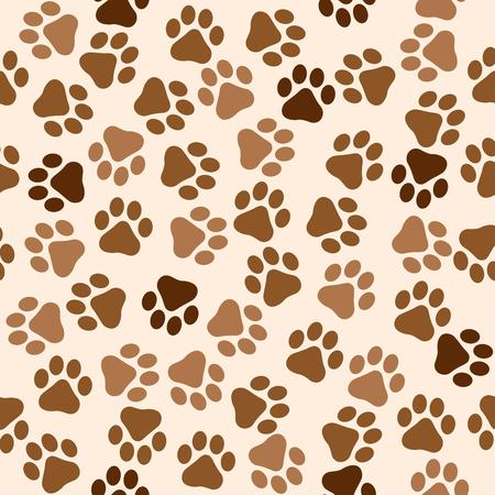 pawprint: Pawprint seamless pattern