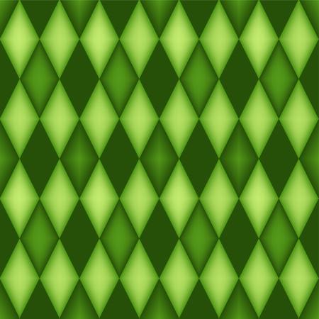 diamond shaped: argyle pattern with 3d effect  diamond shaped background Illustration