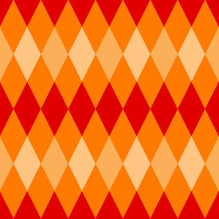 diamond shaped: Seamless argyle pattern diamond shaped background Illustration