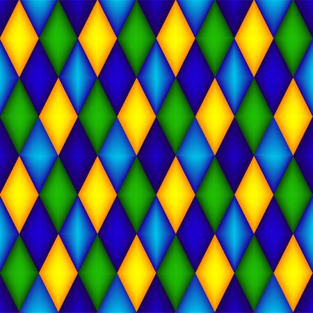 diamond shaped: Seamless argyle pattern with 3d effect  diamond shaped background