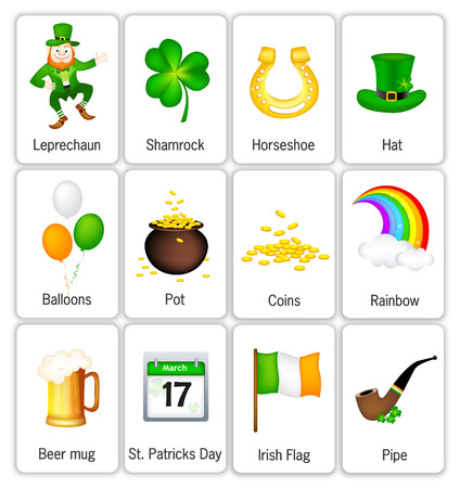 good s: St. Patrick`s day icon. Vector Illustration