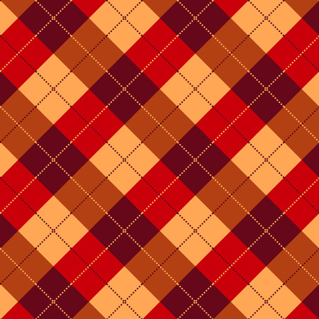 gingham pattern: Plaid  gingham pattern  texture Illustration