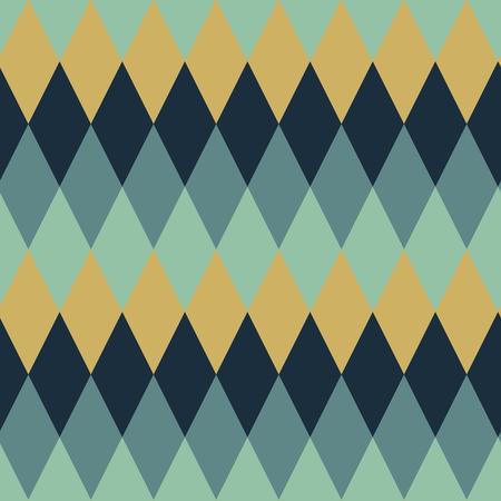 Naadloze argyle patroon ruitvormige achtergrond