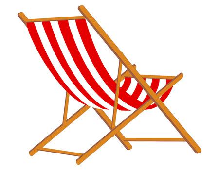 sumer: Sumer beach Chair in red