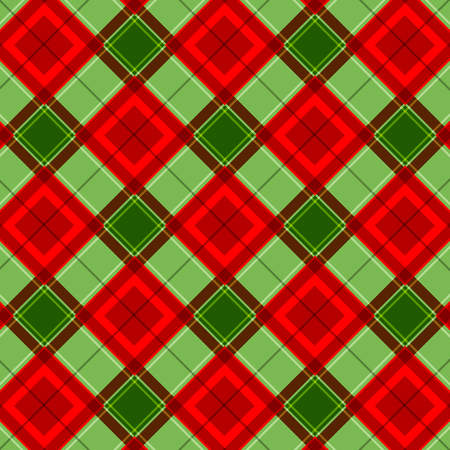 Plaid  gingham pattern  texture Illustration