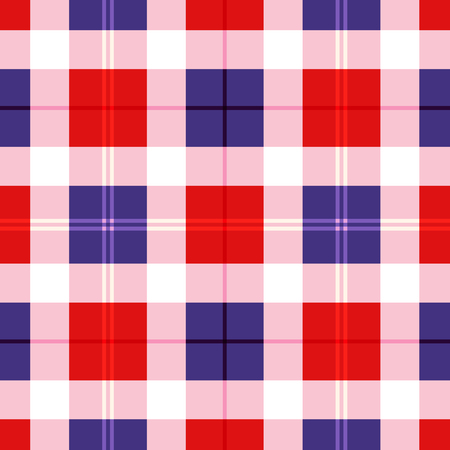 gingham pattern: 4 th of july seamless gingham pattern