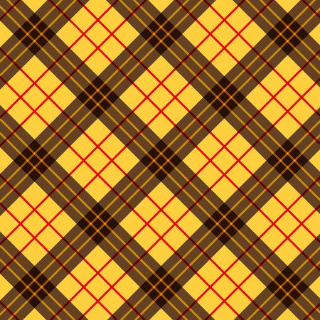 Plaid square pattern Illustration