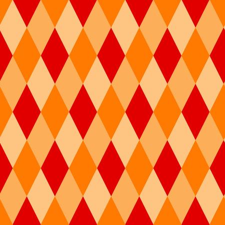 Seamless argyle pattern  diamond shaped background Illustration