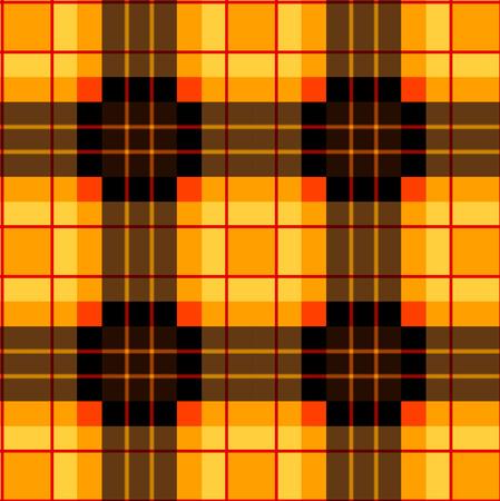 table decor: Plaid square pattern Illustration