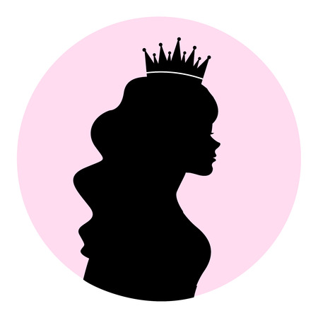 Queen  prinses silhouet