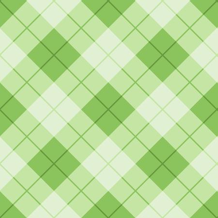 green texture: argyle pattern colorful background Illustration