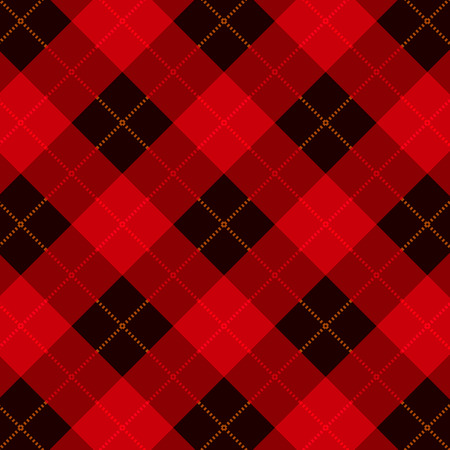 gingham: Plaid  gingham seamless pattern  texture Illustration