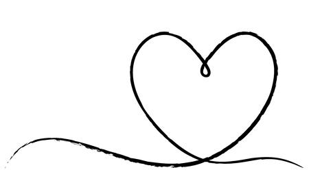heart line frame