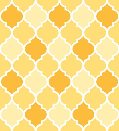 장식 형상 패턴  quatrefoil 배경  패브릭 섬유 및 포장지 디자인에 대 한 벡터 일러스트 레이 션