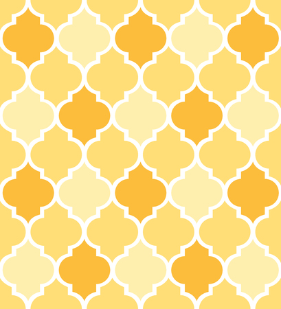 Decorative geometric pattern quatrefoil background  vector illustration for fabric textile and wrapping paper designs