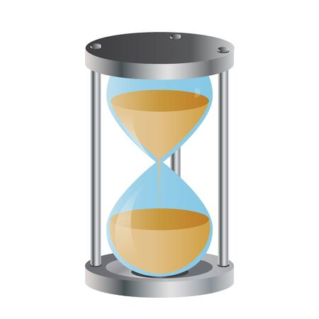 Hourglass vector illustration Stock Vector - 17726834