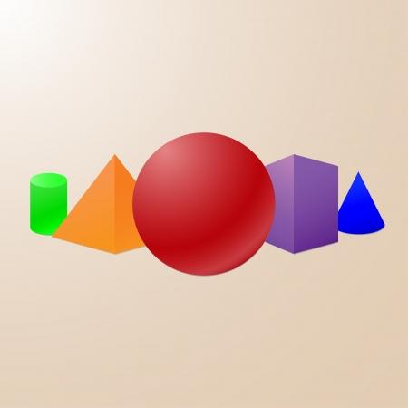 geometrical shapes: Basic geometrical shapes