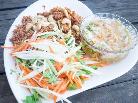 tuna mayo: Spicy deep fried tuna salad, stock photo Stock Photo