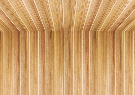 wooden  ceiling: Perspective lines of wooden ceiling, stock photo