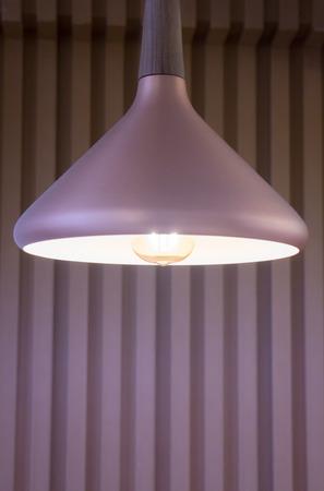 illuminated: Metro Retro Luxury Light Lamp, stock photo Stock Photo