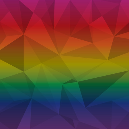 Created multi color triangle abstract background, stock vectir