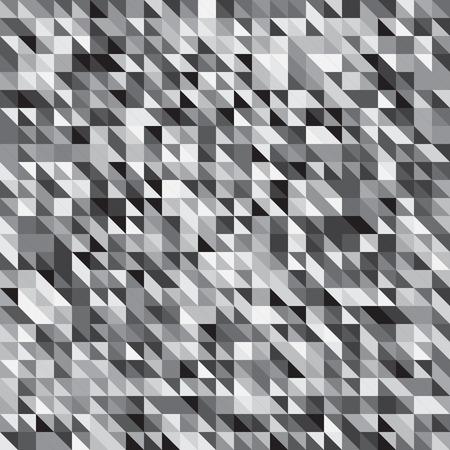 Pixelated grey color stripe pattern. Illustration