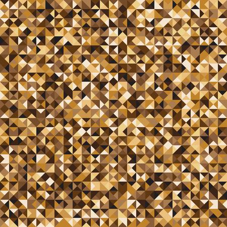 Pixelated yellow mosaic check pattern.