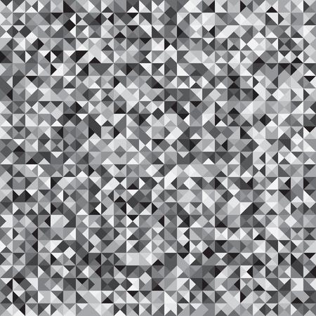 Pixelated grey mosaic check pattern.