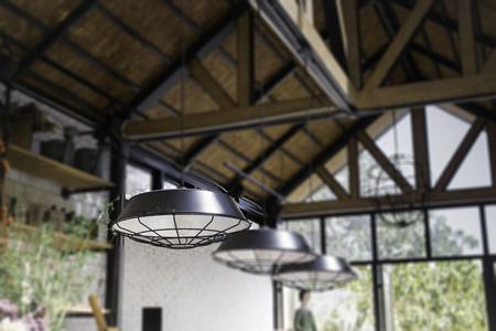 壁掛け型電球ランプ、ストック フォトを飾る 写真素材 - 90099752