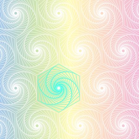 Geometric puzzle line textured background, stock vector Ilustrace