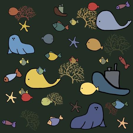 sea animals: sea animals