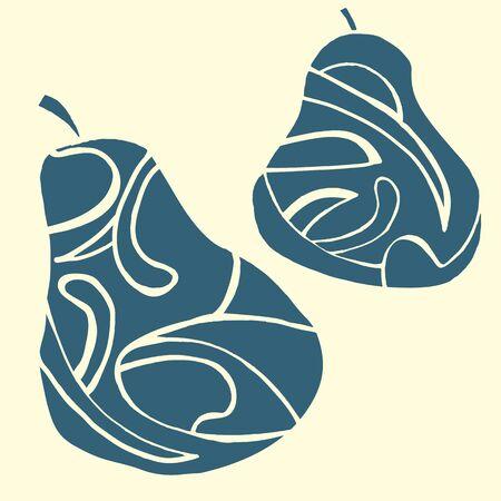 pearl harbor: pear Illustration